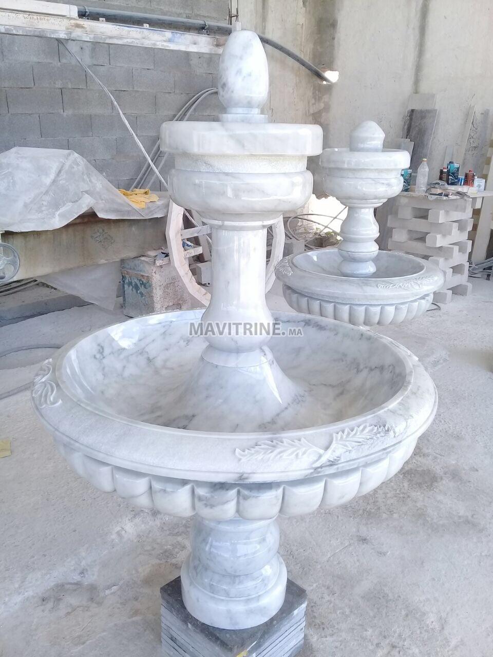fontaine en marbre