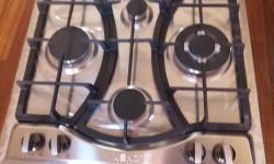 plaque 4 feux grille en fonte
