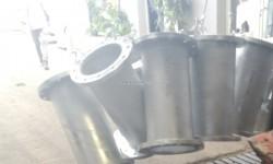 Manchette galvanisé bridée
