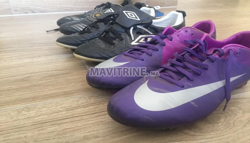 Chaussures de foot crampons