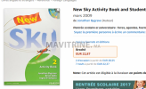 Photo de l'annonce: English books SKY avec 2 CDs