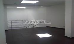 Agréable bureau de 200 m² situé à maarif