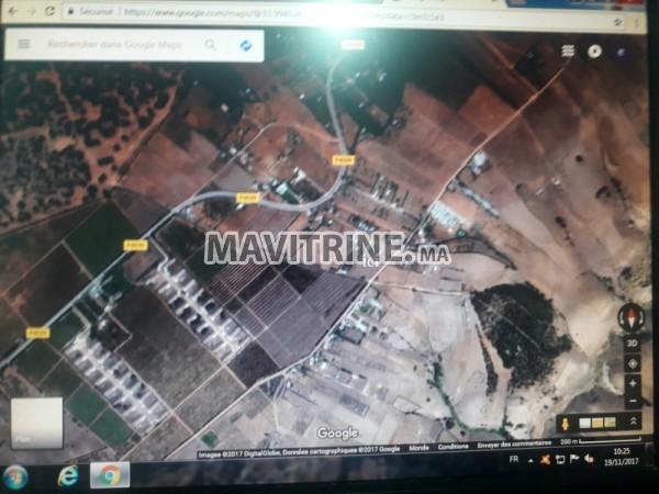 terrain de 1500 m2 a sidi chafi