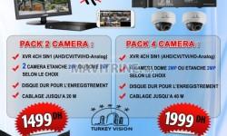 camera et dvr pour video surveillance