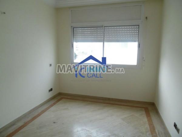 Appartement pour usage bureau bien située à l'Agdal