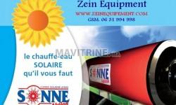 Chauffe eau solaire de la marque SONNE AKTION