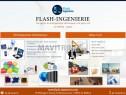Photo de l'Annonce: FLASH INGENIERIE : site web, Ecommerce