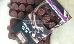 Moules pour chocolats