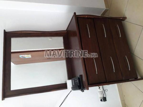 Chambre à coucher en bois massif hetre