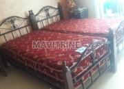 Photo de l'annonce: 2 lits individuels avec matelas