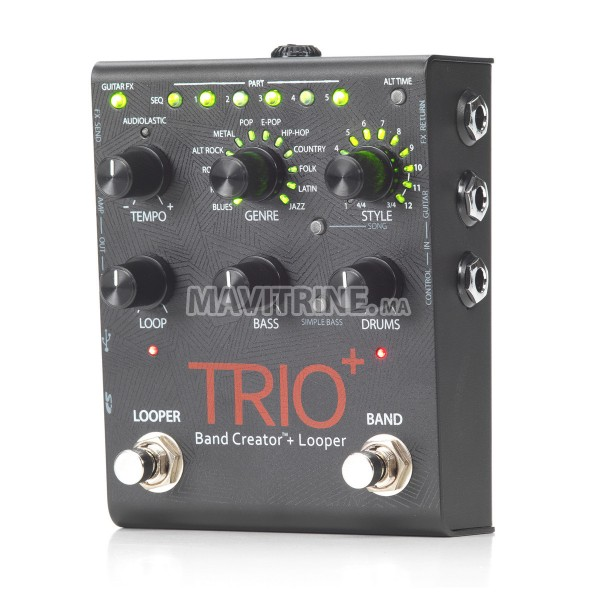 Pédale à effet neuve: Digitech trio+ band creator
