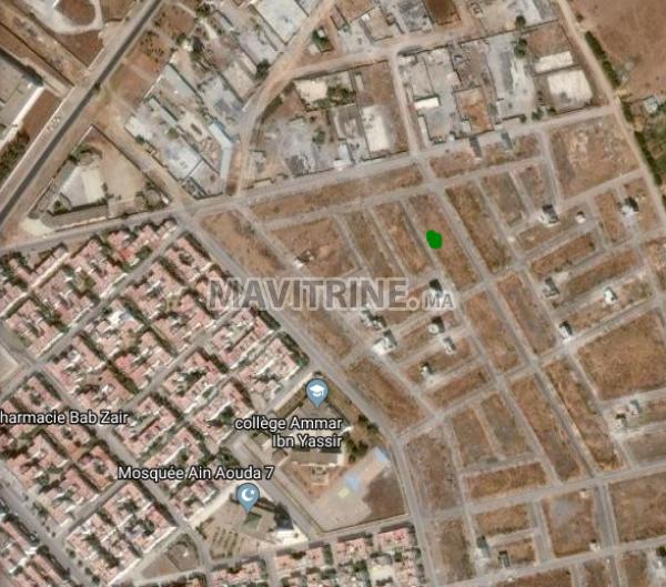 بقعة أرضية للبيع حي النسيم وسط عين عودة مساحتها 70