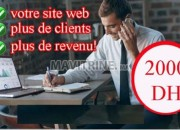 Photo de l'annonce: creation site web profetionnelle a bas prix