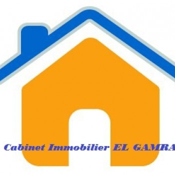 Logo du Vitrine: CABINET IMMOBILIER EL GAMRA