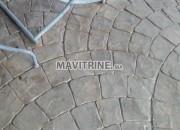 Photo de l'annonce: revêtements du sols et de mur à béton imprimé