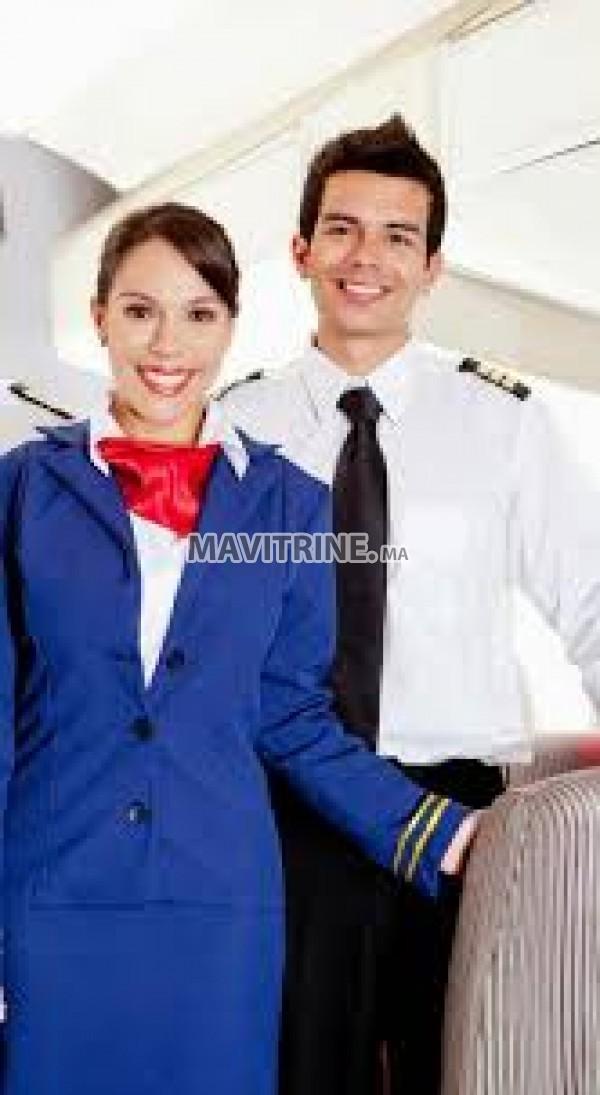 التسجيل في تكوين مضيفي ومضيفات الطيران للعمل في الخطوط الجوية القطرية والمغربية
