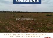Photo de l'annonce: AFFAIRE: TERRAIN AGRICOLE A VENDRE : 5 HA: Marrakech