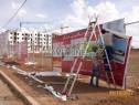 Photo de l'Annonce: Palissades et panneau chantier.
