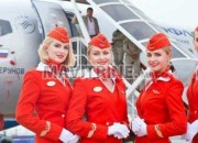 Photo de l'annonce: L'hôtesse de l'air et le steward