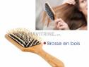 Photo de l'Annonce: Brosse cheveux bois