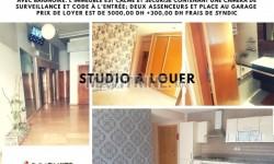 Très beau Studio bien situé et très ensoleillé