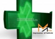 Photo de l'annonce: croix pharmacie et tous  des enseignes publicitaires