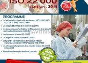 Photo de l'annonce: Formation ISO 22 000 version 2018 Casablanca