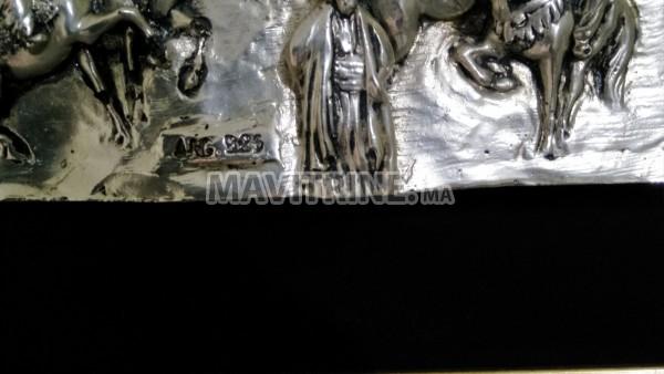 لوحة فنية منحوثة للقدس