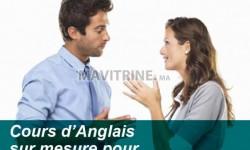cours d'anglais sur mesure pour les  professionnels et cadre à l'institut américain témara