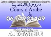 Photo de l'annonce: Cours particuliers ARABE dialectaux, classique, Moderne Rabat hay riad/Agdal