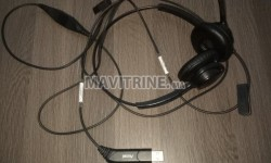 Vente casque centre d'appel
