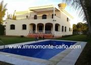 Photo de l'annonce: Location villa d'architecture moderne neuve avec piscine à louer à Soussi Rabat
