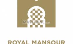 Royal Mansour Marrakech recrute Responsable Accueil et Boutique