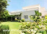 Photo de l'annonce: Location une villa de standing avec piscine à Rabat au quartier Souissi