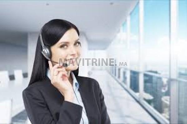Téléconseillers sans expériences