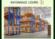 Photo de l'annonce: Rayonnage Lourd & Mi Lourd
