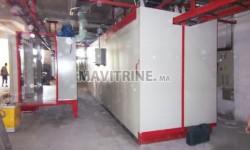 équipement de peinture électrostatique et four de peinture Epoxy