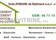 Photo de l'annonce: Travaux d'aménagement et décoration intérieur et extérieur de bâtiment