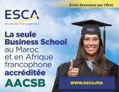 Choisissez la seule école reconnue à l'international au Maroc !
