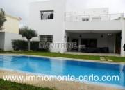 Photo de l'annonce: Location une villa meublée avec piscine à Hay Riad Rabat