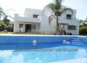 Photo de l'annonce: Villa avec chauffage et piscine à louer au quartier  Souissi RABAT