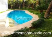 Photo de l'annonce: Location villa meublée avec piscine Hay Riad Rabat
