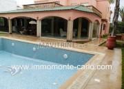 Photo de l'annonce: Location une villa meublée avec piscine à Rabat au quartier Souissi