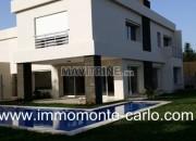 Photo de l'annonce: Villa haut standing neuve avec piscine et chauffage central à Souissi
