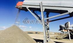 Station de concassage mobile capacité 200 t/h