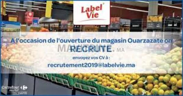Carrefour Market Ouarzazate recrute