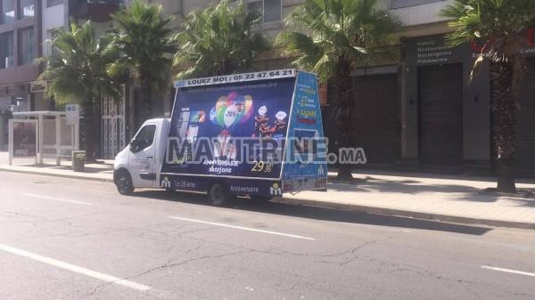 faire des publicités sur des camion du publicitaire