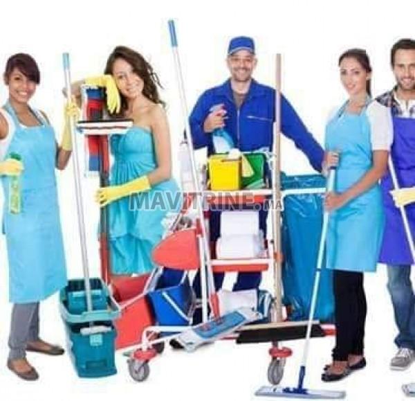 Services nettoyage ahs  est un Agence d Employés