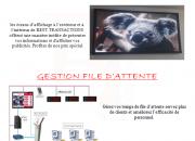 Photo de l'annonce: ECRAN D'AFFICHAGE & GESTION FIL D'ATTENTE