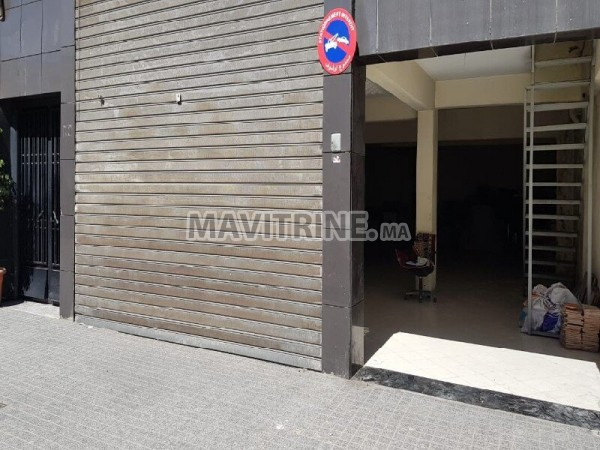 Local Commercial à vendre 380M² Maarif Casablanca